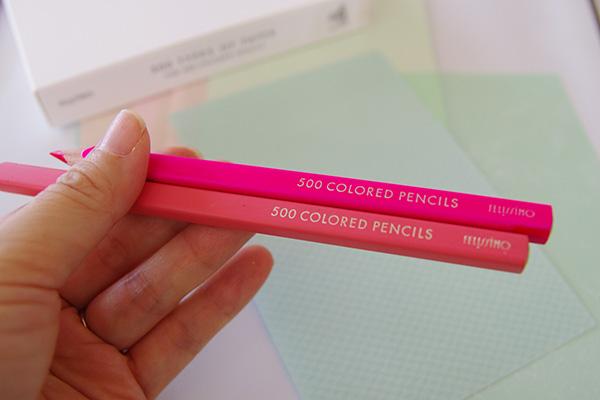 フェリシモ500色の色鉛筆の特徴