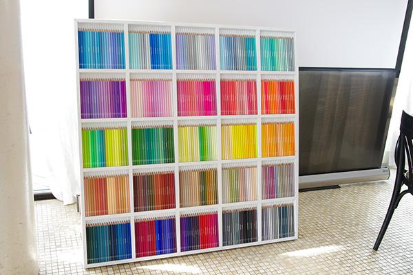 フェリシモ500色の色鉛筆一覧