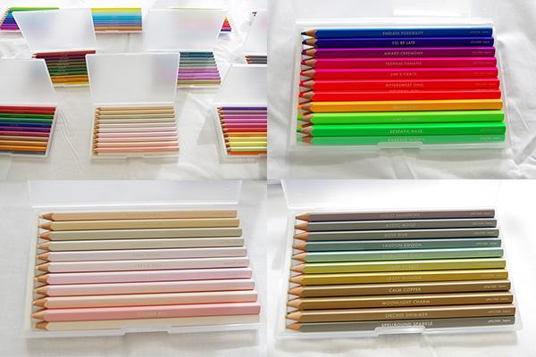 フェリシモ500色の色鉛筆に含まれる他ではない色