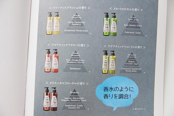 花王グールの5つの香りイメージ