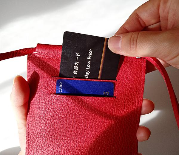 NAGATANI(ナガタニ)のスマホポーチSPUR(シュプール)カード入れの口コミ