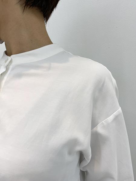 フェリシモイディットクレバーシャツフレアーの透け感