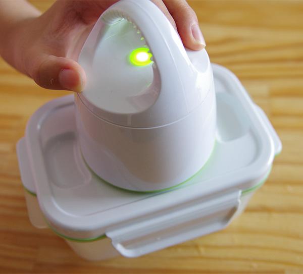 真空保存容器フォーサを確実に真空にするコツ