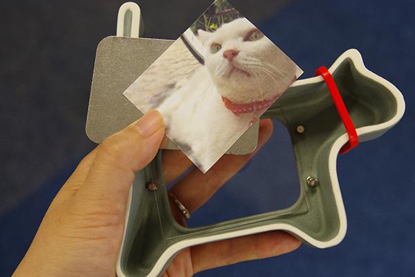 日比谷花壇ペットお供えセットに含まれる写真立ての使い方