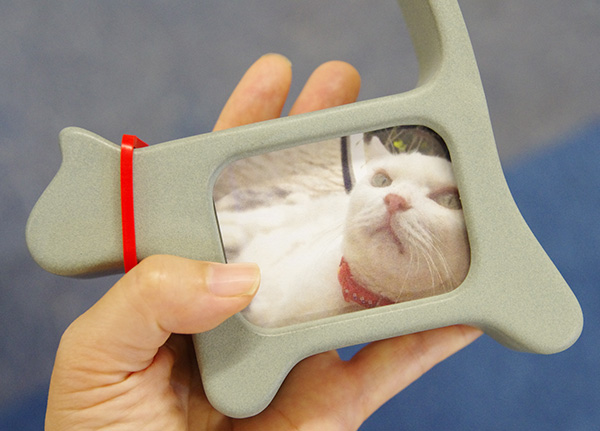 日比谷花壇ペットのお供えセット写真立ての大きさ猫
