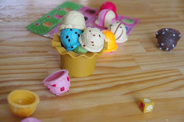 エポックアイスクリームタワー +3の遊び方デコレーションカップアイスクリームゲーム