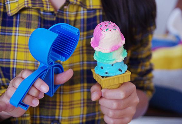 エポックアイスクリームタワー +3の遊び方アイス15段積みゲーム