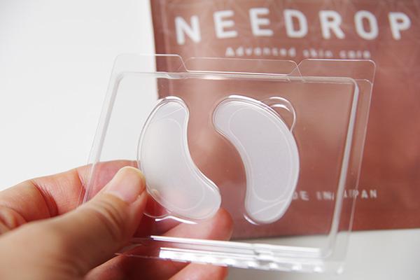 NEEDROP(ニードロップ)で目元じんわりあったか♪オリジナル針形状で痛みが少ないマイクロニードル
