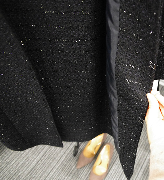 ベルーナ ラナン コートアップスーツのジャケット口コミ