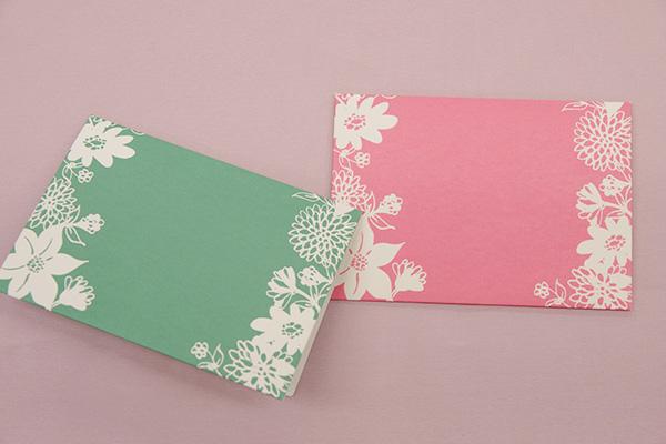 日比谷花壇 無料 メッセージカード 裏面